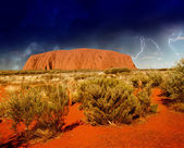 Landscape of Australian Outback in Northern Territory — Stock Photo