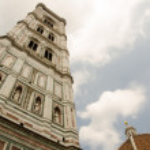 Piazza Duomo - Santa Maria del Fiore in Florence - Duomo Cathedral — Stock Photo #11615070