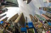 NEW YORK CITY - MARCH 9: Times Square is featured with Broadway — Stockfoto