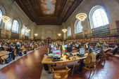 NEW YORK CITY - MAR 6: New York Public Library is the third larg — Stock Photo