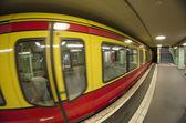 Rame de métro de u-bahn à berlin — Photo