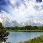 Landscape of Grand Teton National Park - USA — Stock Photo #11802220