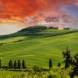 Tuscany Hills and Countryside in Chianti region — Stock Photo