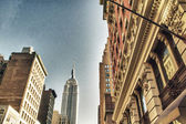 Manhattan Buildings and Skyscrapers — Stock Photo