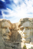 Sculptue mount rushmore - usa — Stock fotografie