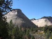 Zion nationalpark landskap — Stockfoto