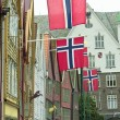 Architecture of Bergen, Norway - Foto Stock