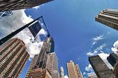 Rascacielos de manhattan — Foto de Stock