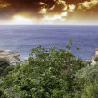 Coast of Liguria, Italy — Stock Photo