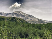 Nature of Mount Saint Helens, U.S.A. — Stock Photo