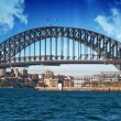 Sydney Harbour Bridge and Australian Sky — Foto Stock