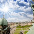 Aerial view of Berlin from the Cathedral — Stock Photo