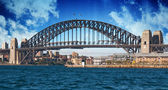 Sydney Harbour Bridge and Australian Sky — Stock Photo