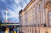 достопримечательности в берлине, германия — Стоковое фото