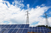 太陽エネルギー — ストック写真
