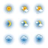 ícones do tempo — Vetorial Stock
