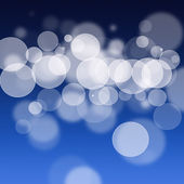 Blue bokeh background — Stock Photo
