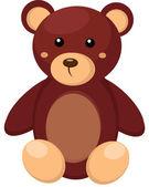 Little teddy bear toy — Stock Vector