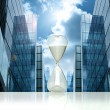 Royalty-Free Stock Photo: Business hourglass