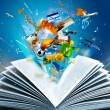 Fantasy book — Stock Photo #11015723