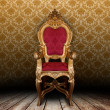 Stock Photo: Vintage armchair