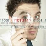 Virus search — Stock Photo