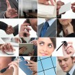 Business collage — Stock Photo #11019471