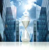 Business hourglass — Stock Photo