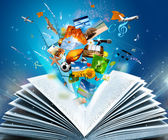 Fantasy knihy — Stock fotografie