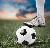 Deporte de fútbol — Foto de Stock
