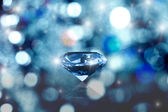 Glowing diamond — Stock Photo