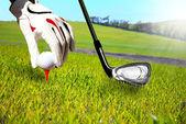 Golf oyunu — Stok fotoğraf
