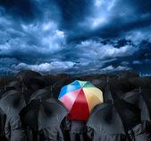 Essere un uomo d'affari diverso — Foto Stock