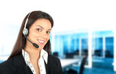 Call center support — Stock Photo