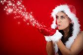 Kerstmis en ster — Stockfoto