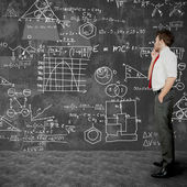 Biznesmen rozwiązywania problemów — Zdjęcie stockowe