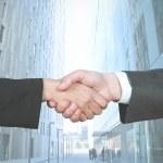 Business handshake — Stock Photo #11809835