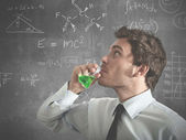 The right potion for success — Stock Photo