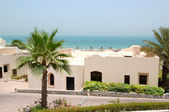 Holliday villa at the luxury hotel and palm, Ras Al Khaimah, UAE — Stock Photo