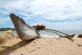 The traditional Sri Lanka's boat for fishing — Stock Photo