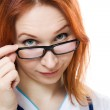 Attractive female doctor — Stock Photo #11394962