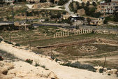 Israel archaeology in Herodium castle of king Herod — Stock Photo