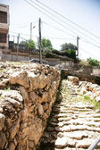 Excavations in Hebron city divided between jews and arabs — Stock Photo