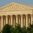 Supreme Court Building Washington DC — Stock Photo
