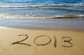 2013 happy new year — Foto Stock