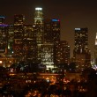 Los Angeles Downtown night skyline — Stock Photo #11013235