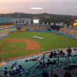 Dodgers baseball Stadium Los Angeles — Stock Photo