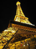 Eiffel Tower light Las Vegas — Stock Photo