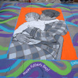 PASADENA, CA-USA - JUNE 19 2011: Painting Art Murals with chalk on street at the 19th Annual Pasadena Chalk Festival held on June 18 and 19 2011 at Paseo Colorado — Photo