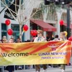 PASADENA, CA-USA - FEBRUARY 18: Chinese Lunar New Year Parade on February 18 2007 in Pasadena California — Stock Photo